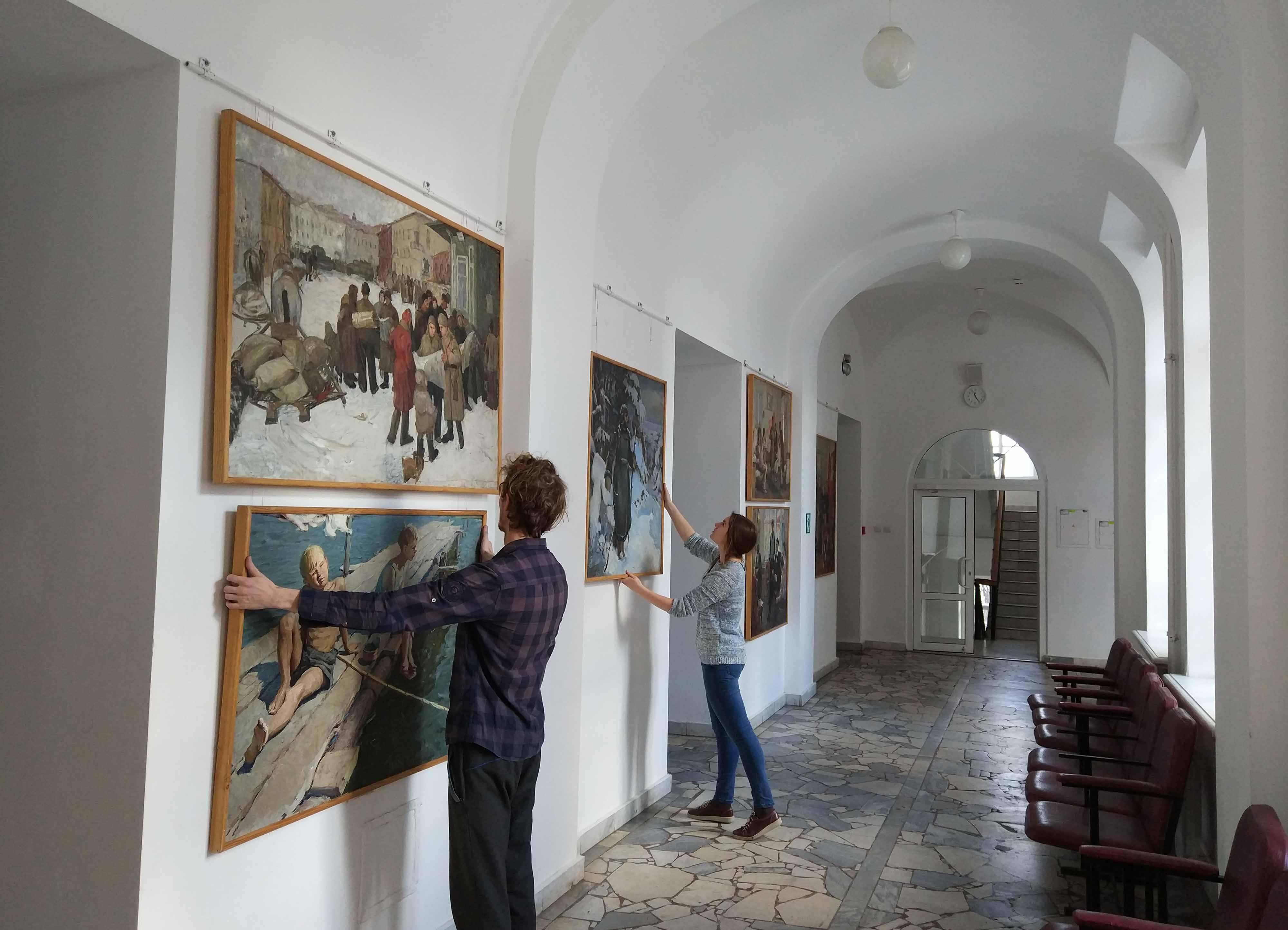 Пензенское художественное училище им К А Савицкого В экспозиции будут представлены дипломные работы с 1936 по 2017 гг Работа А Макарова датируемая 1936 годом является одной из старейших хранящихся в